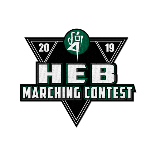 2019 HEB Marching Band Contest Patch