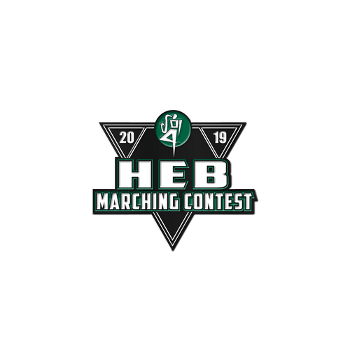 2019 HEB Marching Band Contest Pin