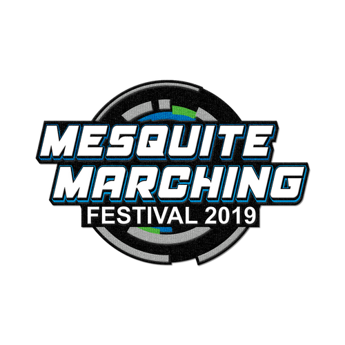 2019 Mesquite Marching Festival Patch