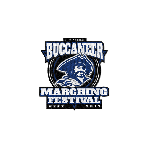 2019 Buccaneer Marching Festival Patch