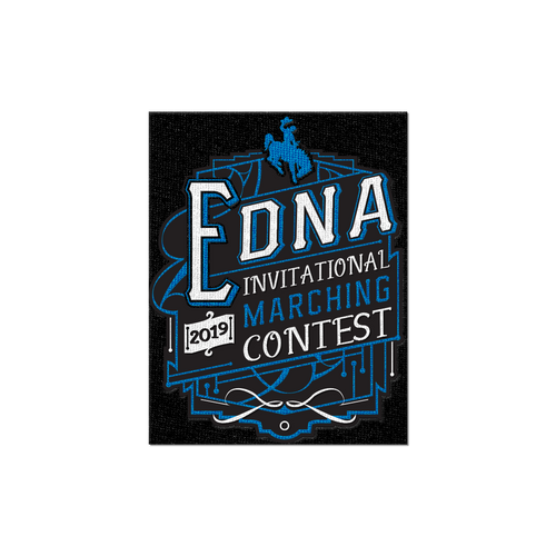 2019 Edna Marching Contest Patch