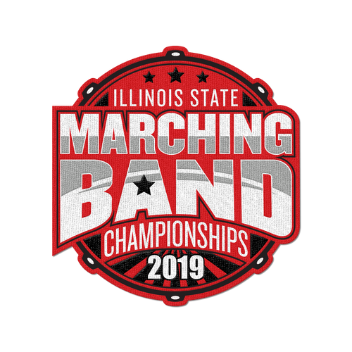 2019 Illinois State Marching Band Championships Patch
