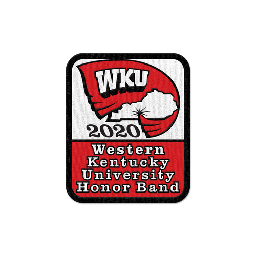 2020 Western Kentucky University Honors Band Patch