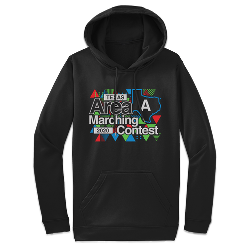 2020 Texas Area Marching Contest Black Hoodie