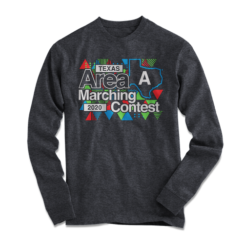 2020 Texas Area Marching Contest Long Sleeve