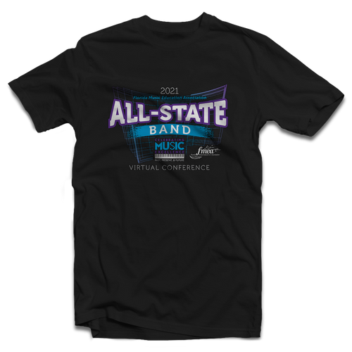 2021 FMEA All-State Black T-Shirt