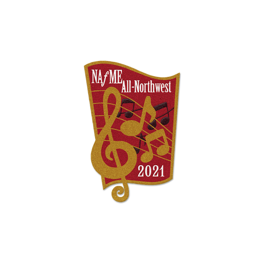 2021 NAfME All-Northwest Event Patch