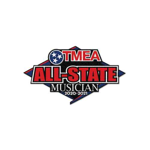 2021 TnMEA Tennessee All-State Patch