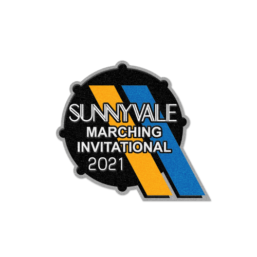 2021 Sunnyvale Marching Invitational Patch