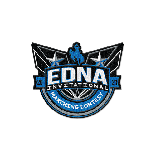 2021 Edna Invitational Marching Contest Patch