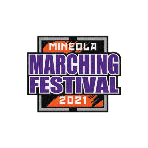 2021 Mineola Marching Festival Patch