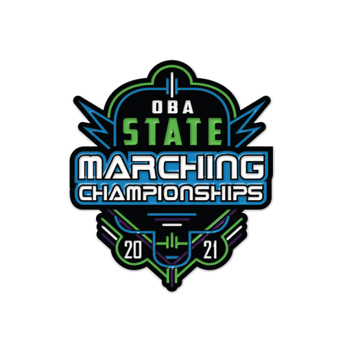 2021 OBA State Marching Band Festival Pin