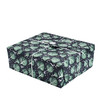 Crackle Wrap - Large.  Pictured here in Midnight Blue