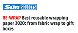 Best reusable wrapping paper, as voted by The Sun!