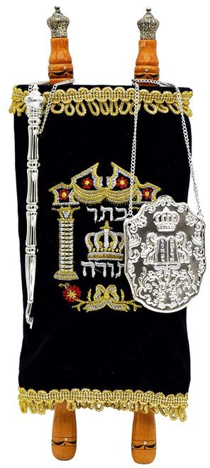 Children's Torah Scroll Open