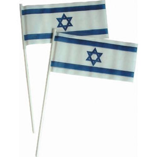 Hand Held Israeli Plastic Flags