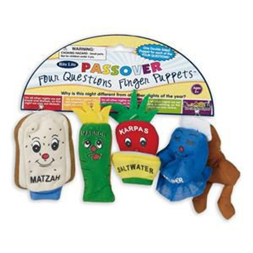 4 Questions Finger Puppets for Passover (Pesach)