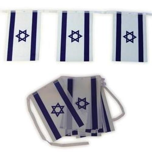 Israel Cloth Flag Chain