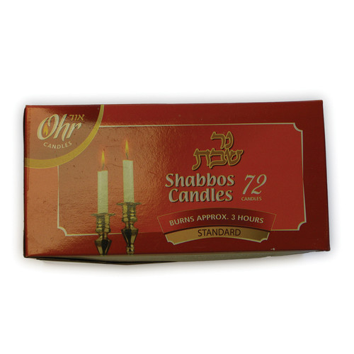 72 Shabbos Candles
