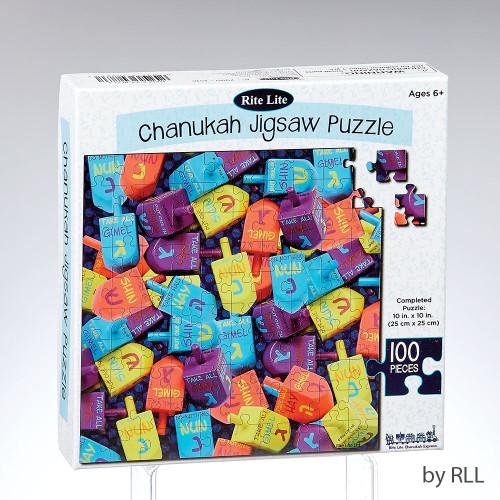 Chanukah Dreidel Puzzle (100 pcs.)