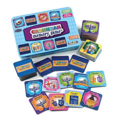 Chanukah Memory Game in Tin Box