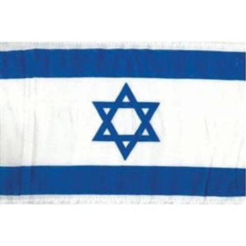 """Medium Israeli Flag 36"""" x 24"""""""