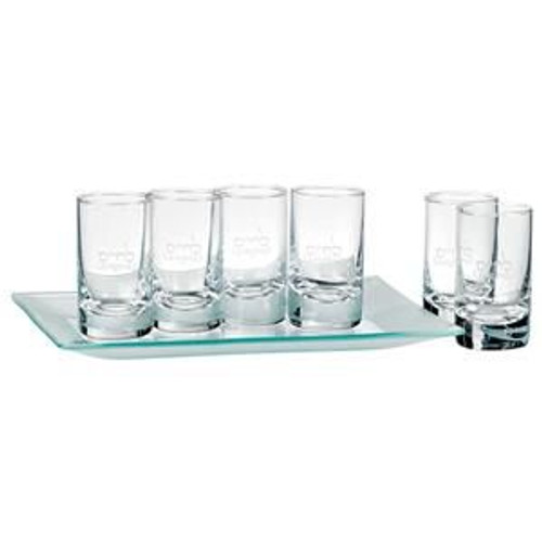 L'Chaim Cordial Set With Tray
