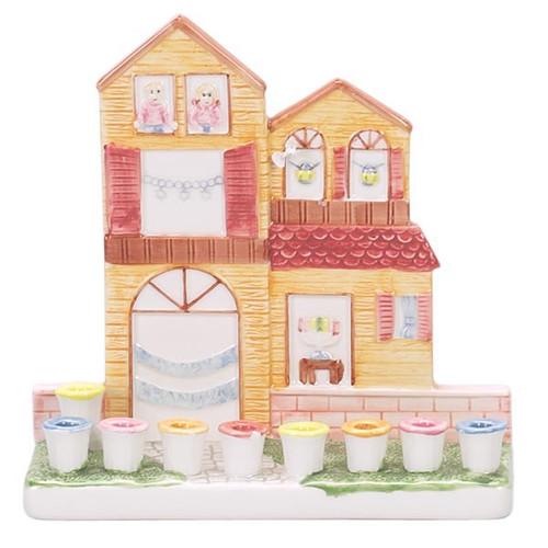 Doll House Ceramic Menorah