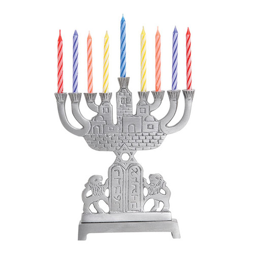 Aluminum Mini Menorah