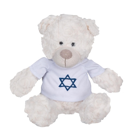 Staffed Torah With White Sweater