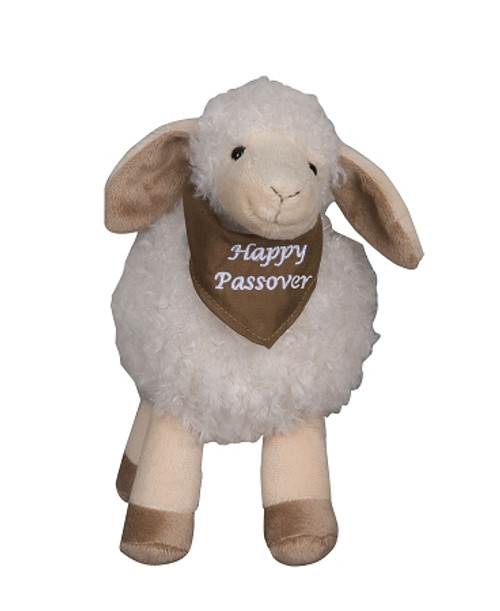 Happy Passover Staffed Lamb