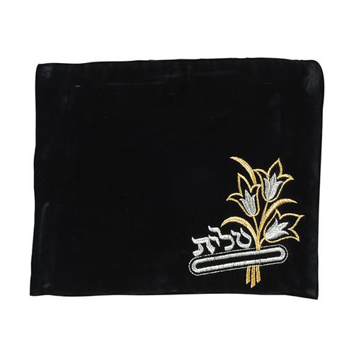 Velvet Black color Tallis