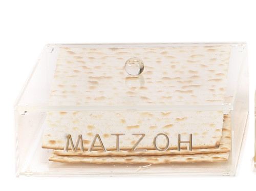 Acrylic Matzah Box