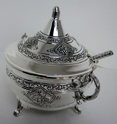 Silver plated Honey Dish
