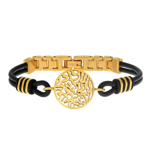 Lee-Am Gold Shema Bracelet