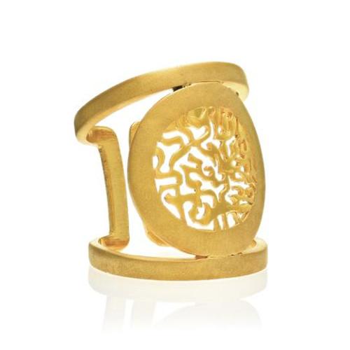 Natalie Shema Ring Gold Plated ring