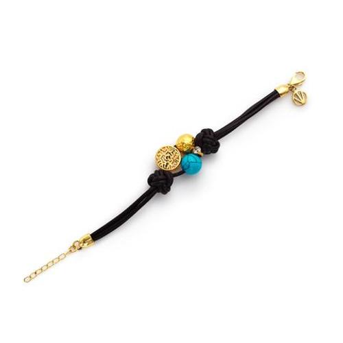 Black And Gold Efrat Bracelet