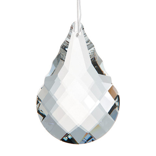 Crystal Cut Drop Pendant