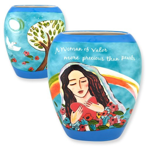 Woman of Valor Vase.