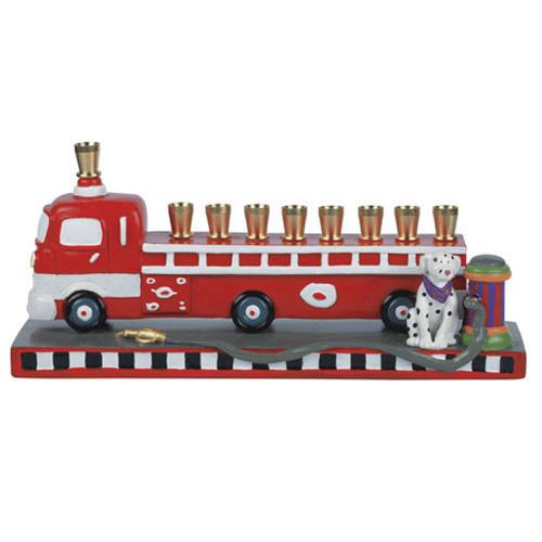 Firetruck Menorah