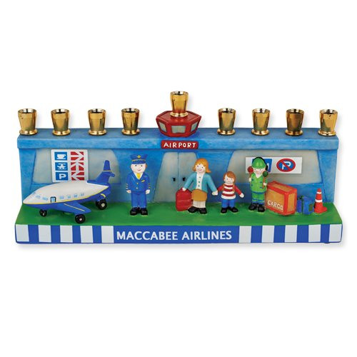 Airport Menorah, Designed By: Jessica Sporn