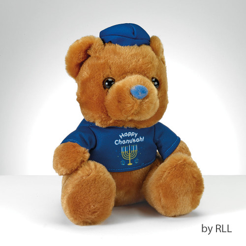 """Happy Chanukah"" Teddy Bear with T-Shirt"