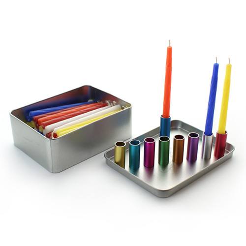 Magnetic Travel Menorah