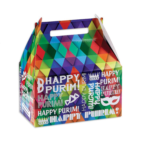 Large Purim Mishaloach Manot Gift Box