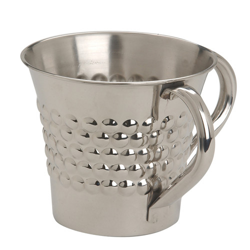 "Stainless Steel ""Netillat Yadayim"" Wash Cup"