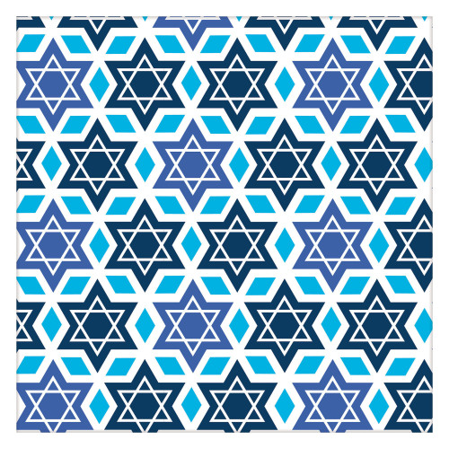 Jewish Holidays Festive Design Wrapping Paper