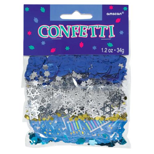 Hanukkah Icons Paper & Foil Confetti Value Mix