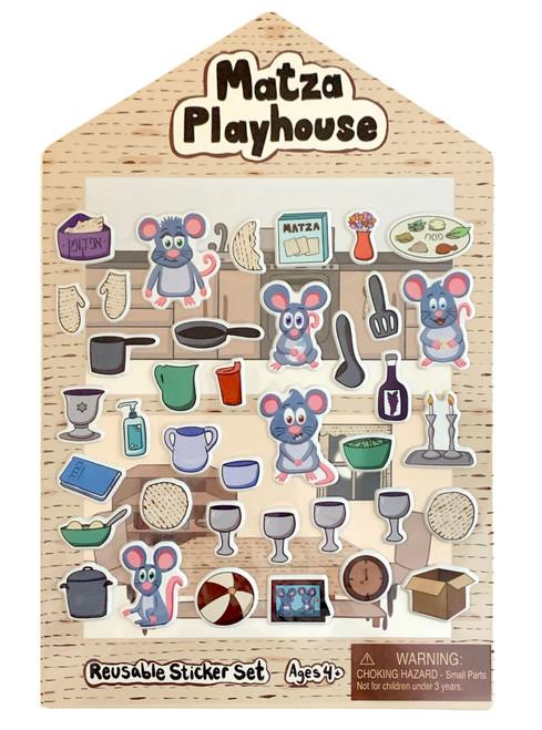 Matzah Playhouse Reusable Sticker Set