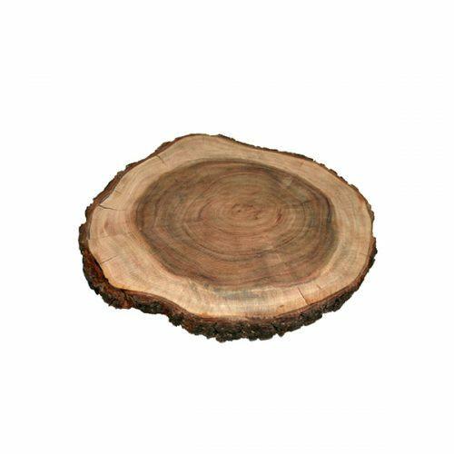"Emanuel Wood Round Challah Board 11"""