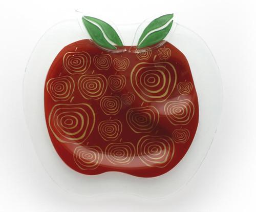 Apple Glass Plate for Rosh HaShana